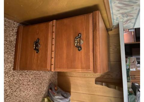 Cedar chest, dresser, file cabinet, end table